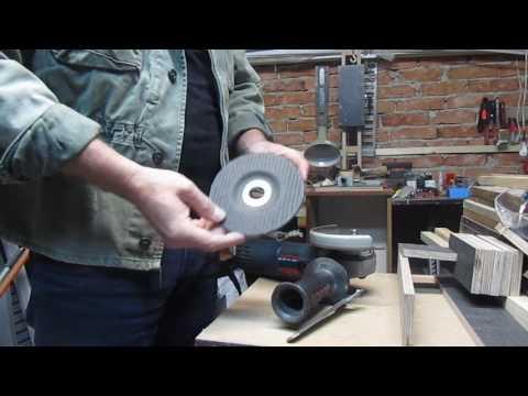 Как правильно ставить диск на болгарку или видеоответ Владимиру Жиленко ЛОМАЕМ СТЕРЕОТИП