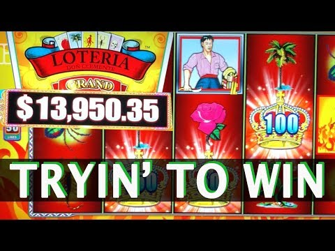 🔴 Trying to WIN ✔ the Loteria 💰 ✦ Slot Fruit Machines and Pokies w Brian Christopher