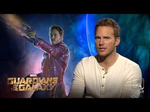 Chris Pratt on StarLord, Guardians of the Galaxy, and his mixtape