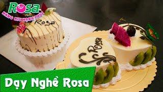 Bánh kem sinh nhật chocolate trái cây ngọt ngào
