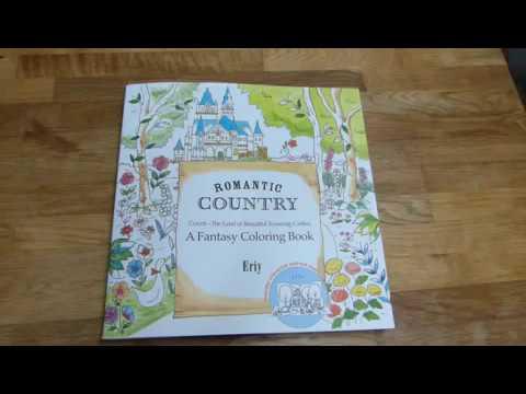Romantic Country: A Fantasy Coloring Book von Eriy - YouTube