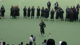 東京ヴェルディ2009年最終戦セレモニー続き