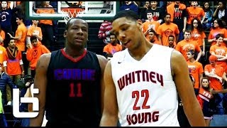 Jahlil Okafor vs Cliff Alexander in instant classic 4 OT Chicago high school championship game