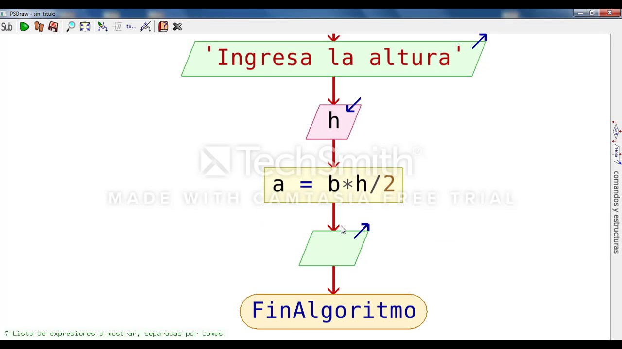 Diagrama de flujo y pseudocodigo del area de un triangulo youtube diagrama de flujo y pseudocodigo del area de un triangulo ccuart Image collections