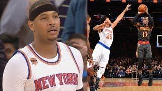 Dennis Schroder Game Winner vs Knicks Controversial Ending Hawks vs Knicks