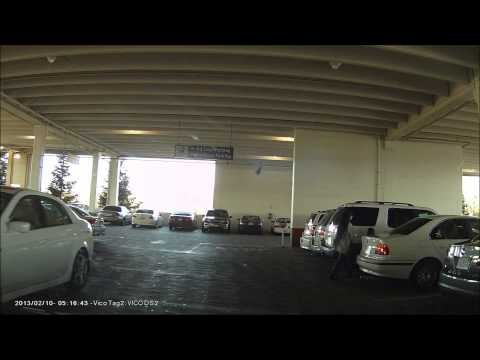Stealing Parking Spot Caught On Dash Cam
