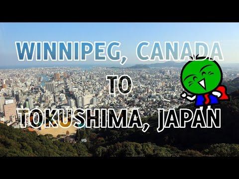 Winnipeg, Canada to Tokushima, Japan • PHANIE ADVENTURES!
