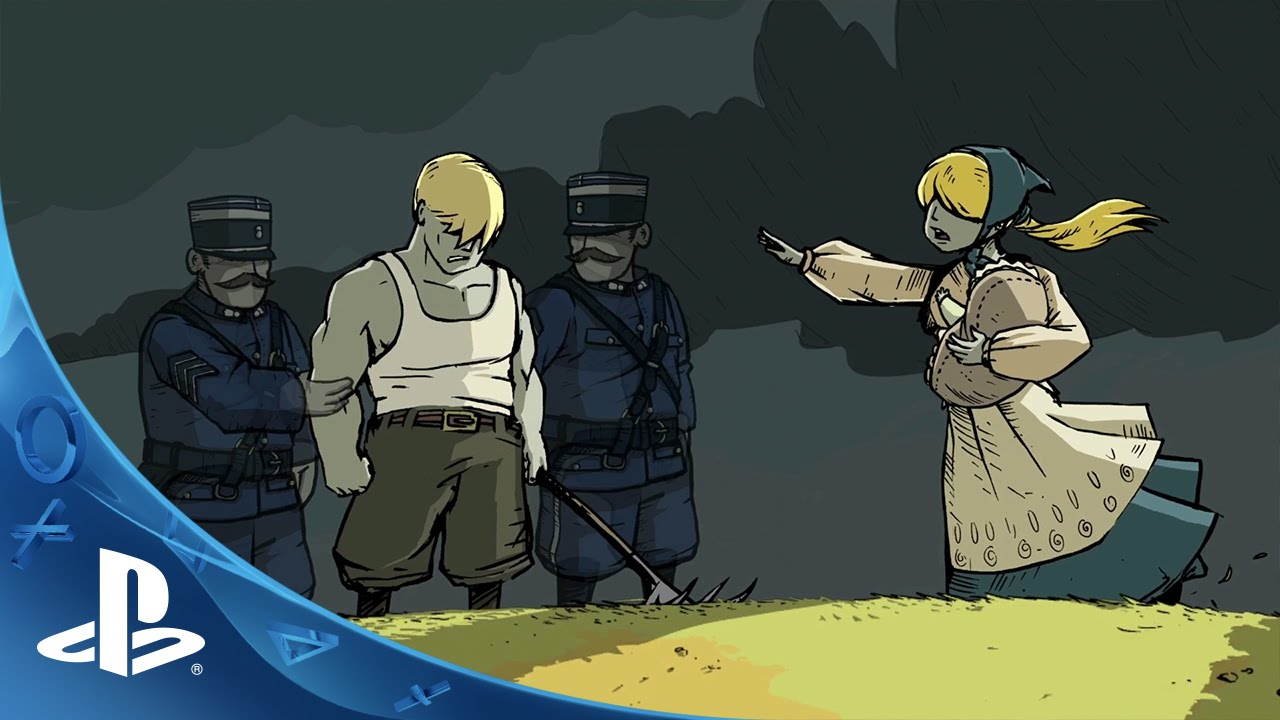 Valiant Hearts: The Great War -- Come Back Trailer | PS4 - YouTube