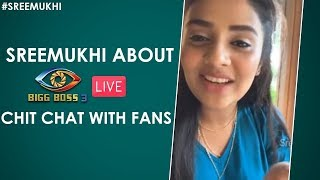 Sreemukhi About Rahul Sipligunj | First Live Video After Bigg Boss 3 | Chiranjeevi