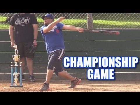 EPIC CHAMPIONSHIP GAME! | Offseason Softball Series | Game 47