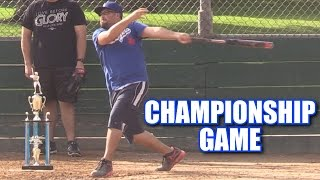 EPIC CHAMPIONSHIP GAME! | Offseason Softball Series | Game 47 thumbnail