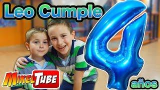Fiesta de Cumpleaños - Leo cumple 4 añitos!!!