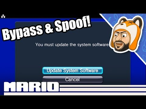 How To Spoof Your Firmware Version On A PS Vita / PSTV | Bypass System Updates!