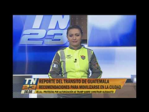 Reporte del tránsito de Guatemala