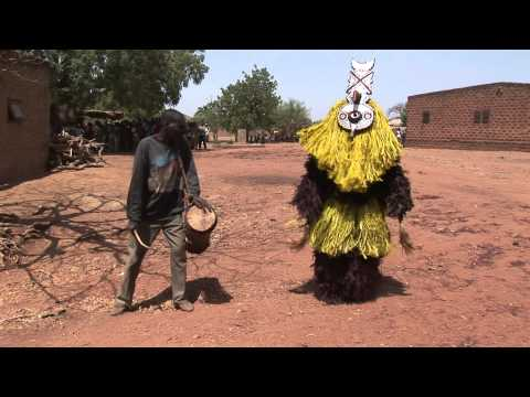 African Art: The Masks of the Bonde Family in Boni Perform, 2007
