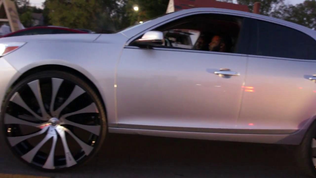 Chevy Malibu On 28 Starr Gatsby Wheels Magic City Classics 2k16
