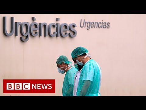 Coronavirus: Spain's death toll surpasses China's - BBC News