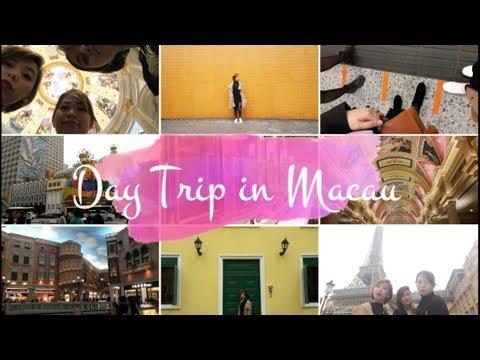 #ANJVENTURES | Day Tour in Macau! Casino, Foods & Scenic Spots!