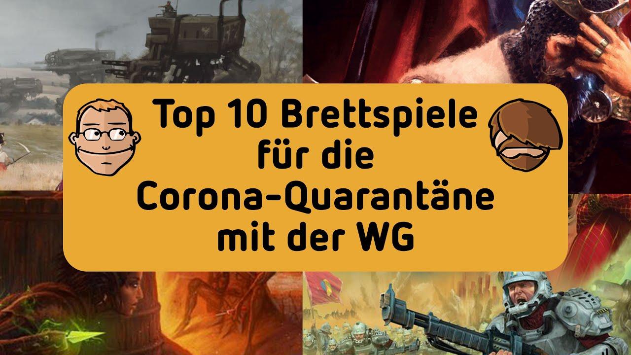 Top 10 Brettspiele