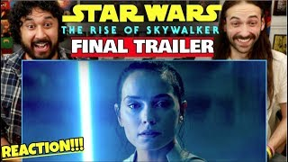 STAR WARS: THE RISE OF SKYWALKER | FINAL TRAILER - REACTION!!!