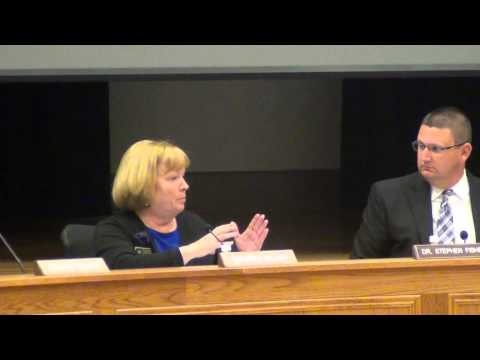 Cleveland County School Board Meeting 11-10-2014