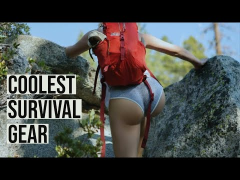 Awesome Survival Gear;  Coolest Camping Gadgets ( ONLY Must Have Gadgets )