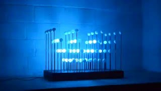 MIDI / sound controlled LED sculpture