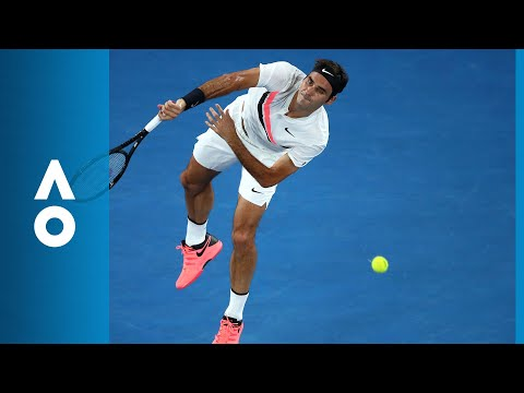Hyeon Chung v Roger Federer match highlights (SF) | Australian Open 2018