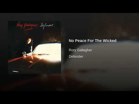 No Peace For The Wicked