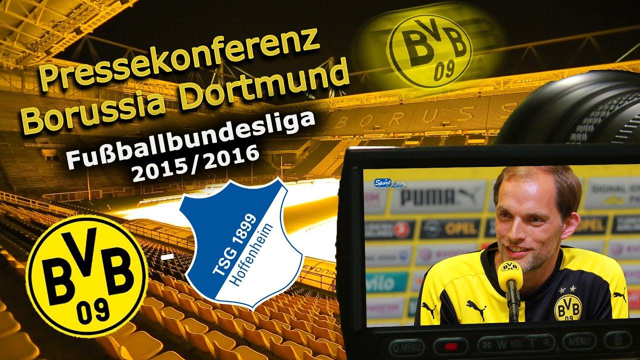 Borussia Dortmund - TSG 1899 Hoffenheim: Pk mit Thomas Tuchel