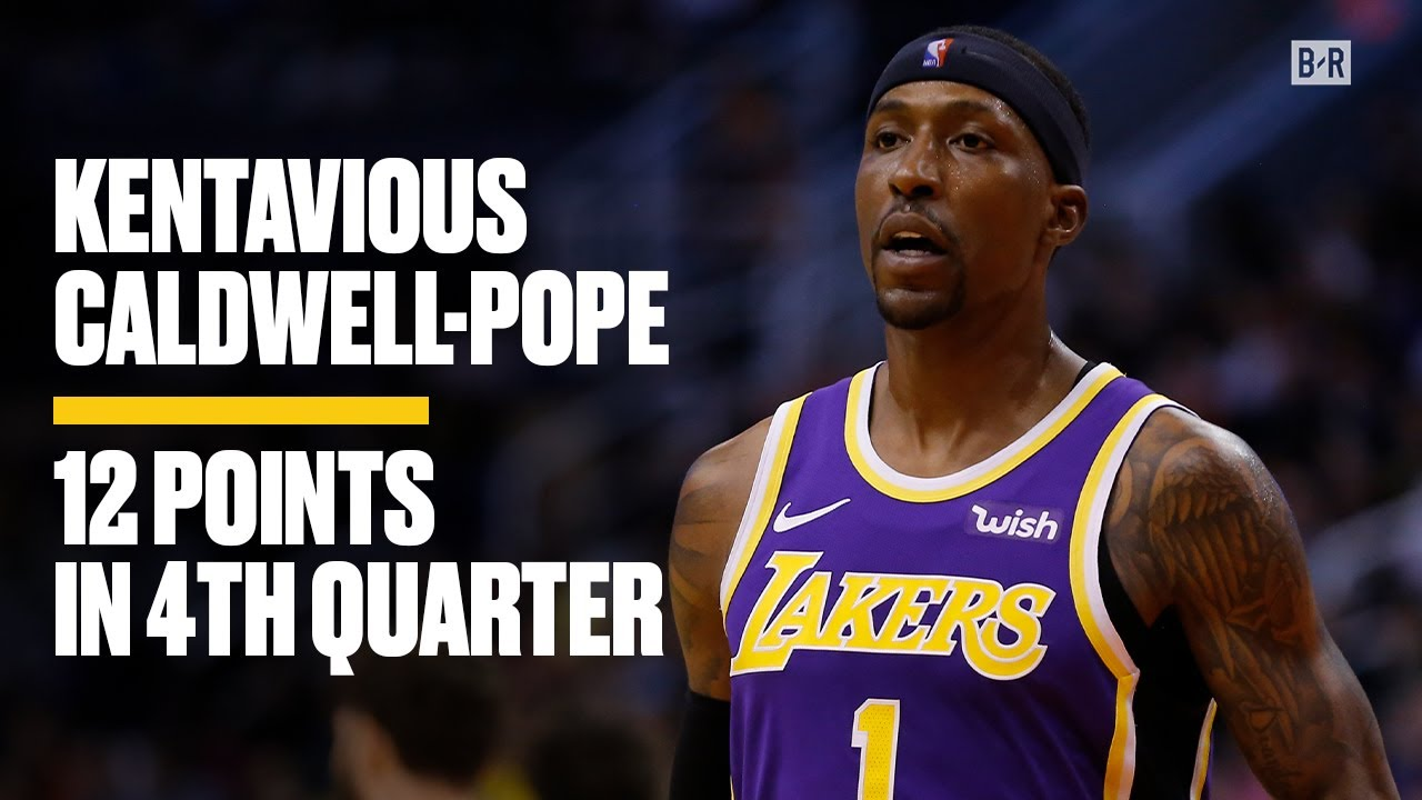 Lakers - Kings: Why Kentavious Caldwell-Pope's 4th-quarter ...