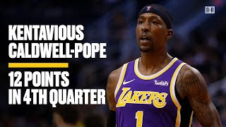 KCP Scores 12 Points to Close Out Lakers Win   Kentavious Caldwell-Pope Highlights