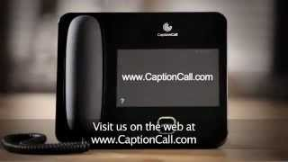 CaptionCall Phone for Hearing Impaired (Hearing Loss).flv