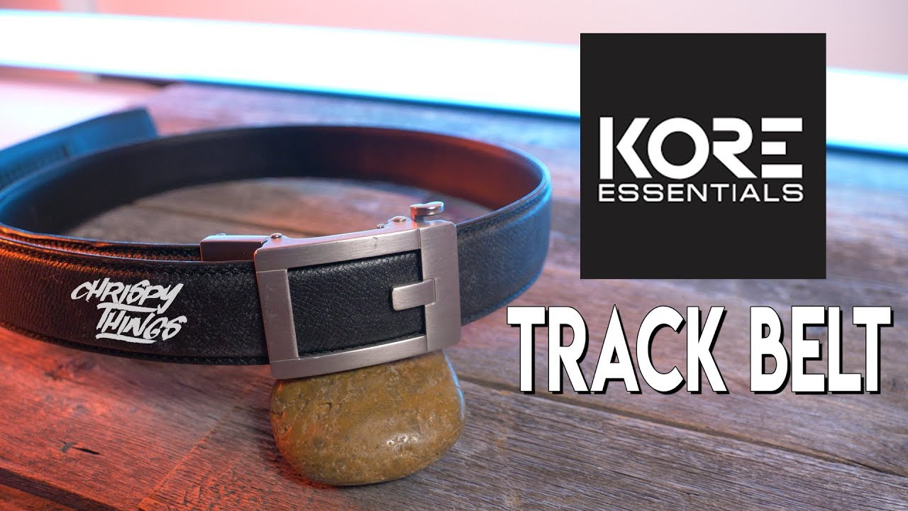 Kore Essentials Track Belt Review Youtube It features a grade 1 titanium. kore essentials track belt review