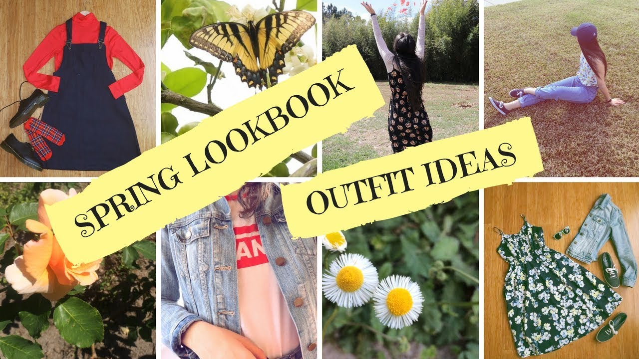 SPRING CLOTHING LOOKBOOK (OUTFIT IDEAS, ALTERNATIVE, GRUNGE OUTFITS/FASHION) 1