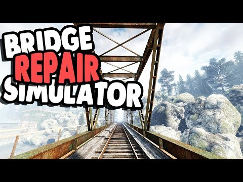 FIXING BIG BRIDGE & INSPECTION CREW | Infra Gameplay Part 1