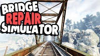 FIXING BIG BRIDGE & INSPECTION CREW   Infra Gameplay Part 1