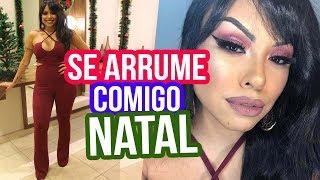 ARRUME-SE COMIGO NO NATAL: MAKE, LOOK E CABELO - Por @Nathinog