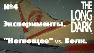 the Long Dark. Эксперименты#4 Колющее vs. Волк