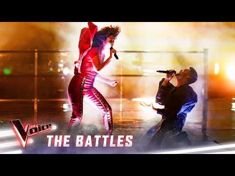 The Battles: Akina v Carlos 'Dirty Diana' | The Voice Australia 2019