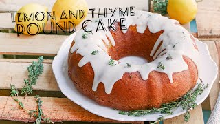 How To Make A Limon And Thyme Pound Cake