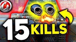 15 KILLS W WOT !!!