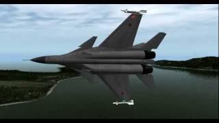 X-Plane MiG-33
