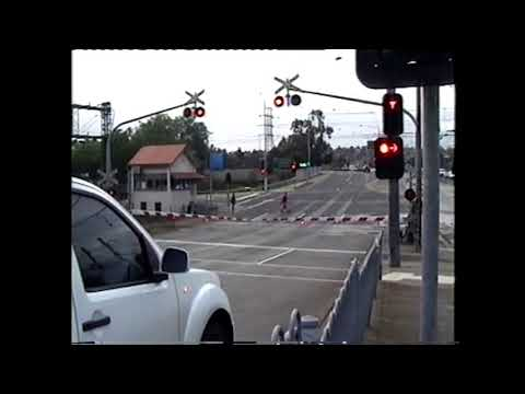 Burke Rd Level Crossing, Glen Iris (Before, During & After Grade Separation)