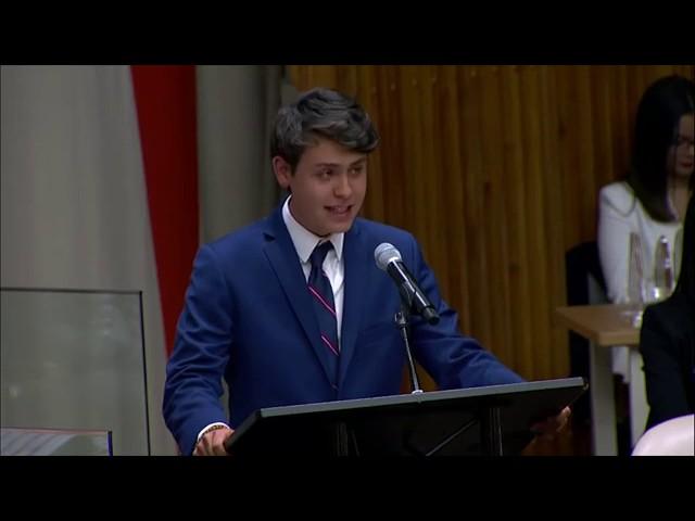 Corte Internacional de Justicia (CIJ) en la Reunión Plenaria de NYMUNLAC 2019.