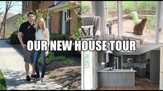 EMPTY HOUSE TOUR! | OUR NEW DREAM HOME | ERICA LEE
