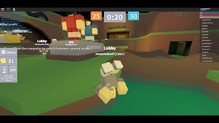 PARKOUR TAG IN ROBLOX!
