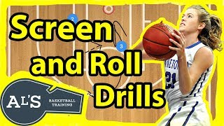 Screen and Roll Basketball Drills