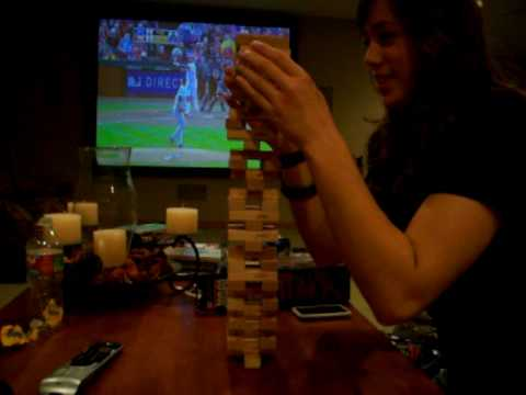 Best jenga game ever.