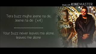 Aastha gill - buzz feat badshah lyrics with song
